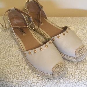 Halogen rockstud sandals